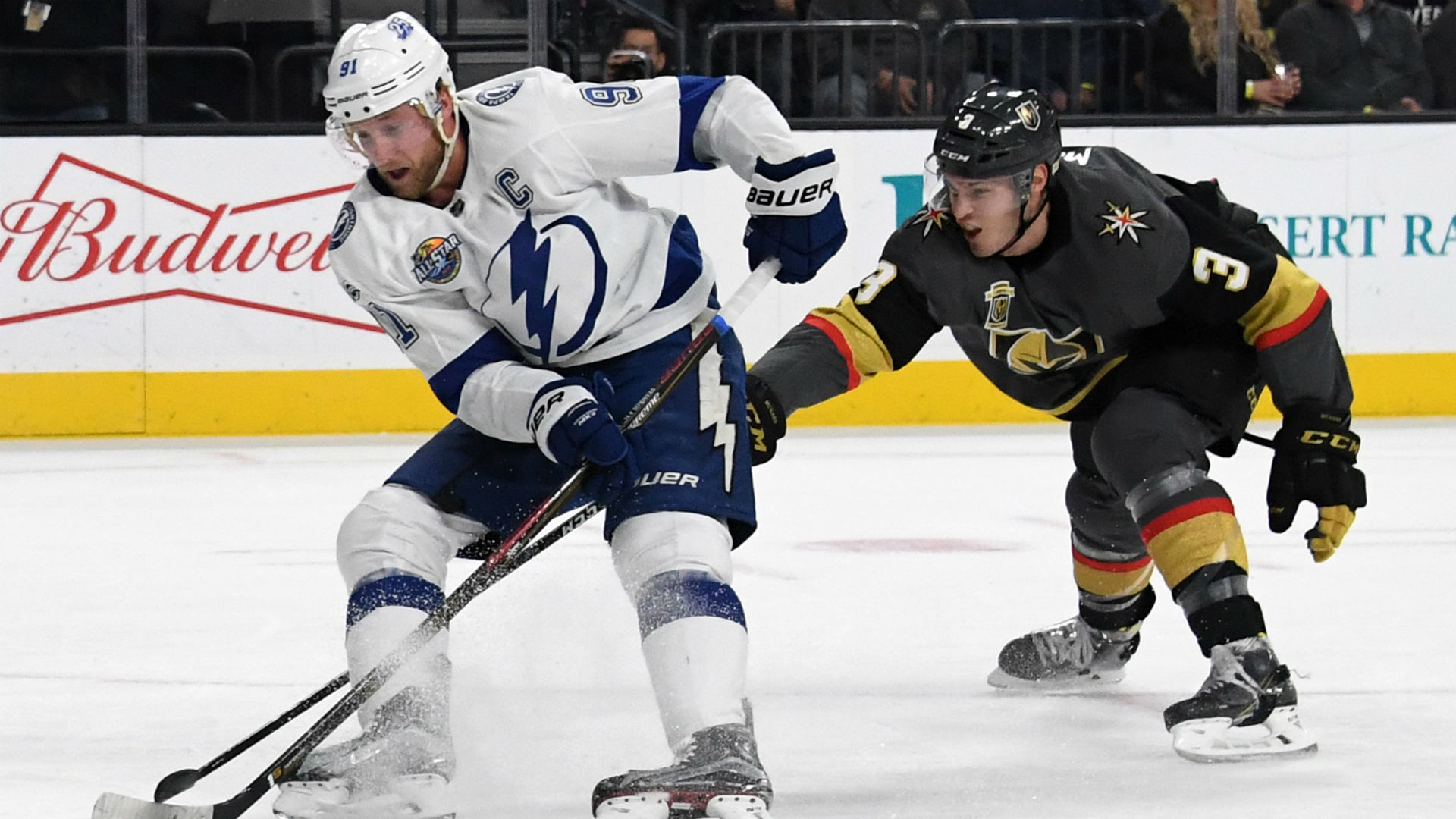 2018 Stanley Cup odds: Surprising Golden Knights chase Lightning at midseason