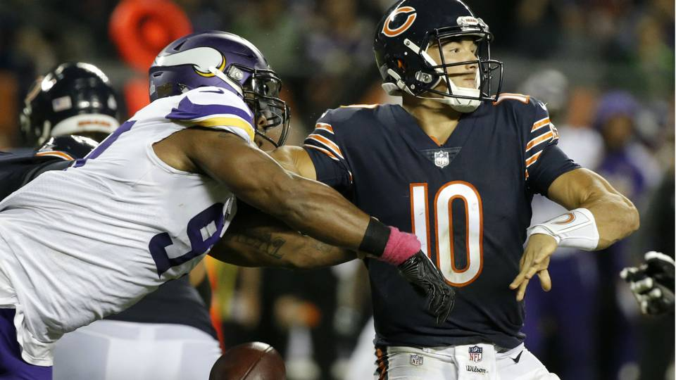 Week 11 NFL picks against spread: Vikings nip Bears; Saints stomp Eagles
