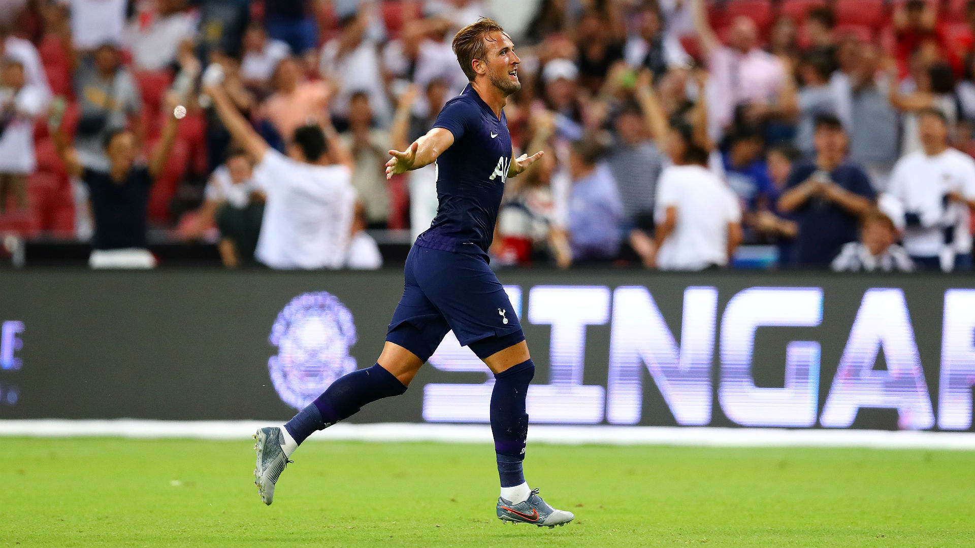 Harry Kane scored a stunner from midfield, and Twitter went wild