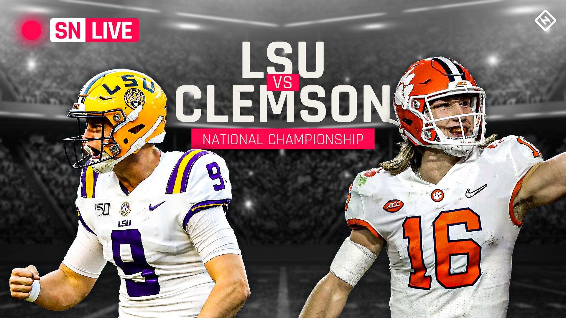 LSU vs Clemson marcador en vivo, actualizaciones, destacados del campeonato de fútbol americano universitario Playoff 2020 2