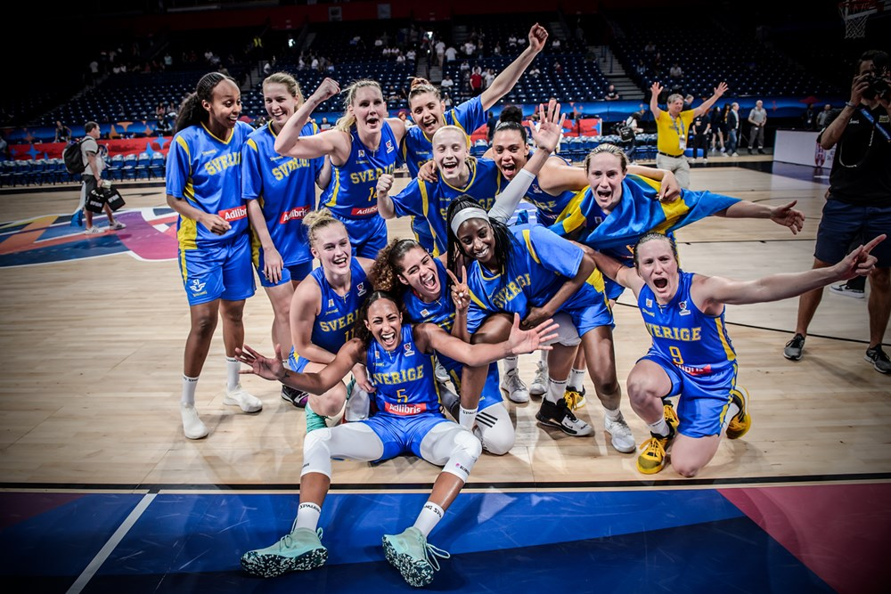 FIBA Women's EuroBasket: Teams of the Tournament