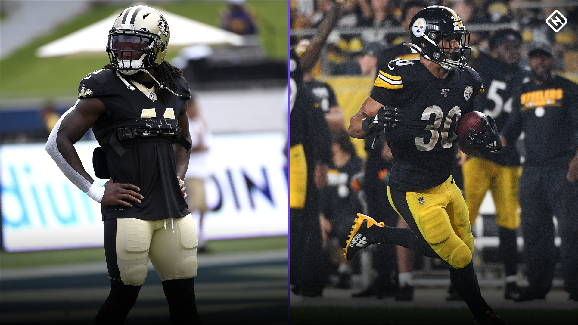 Fantasy Injury Updates: Alvin Kamara, James Conner affect Week 8 RB start 'em, sit 'em decisions