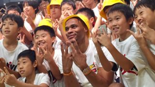 Russell Westbrook 2019 Why Not Tour in Japan