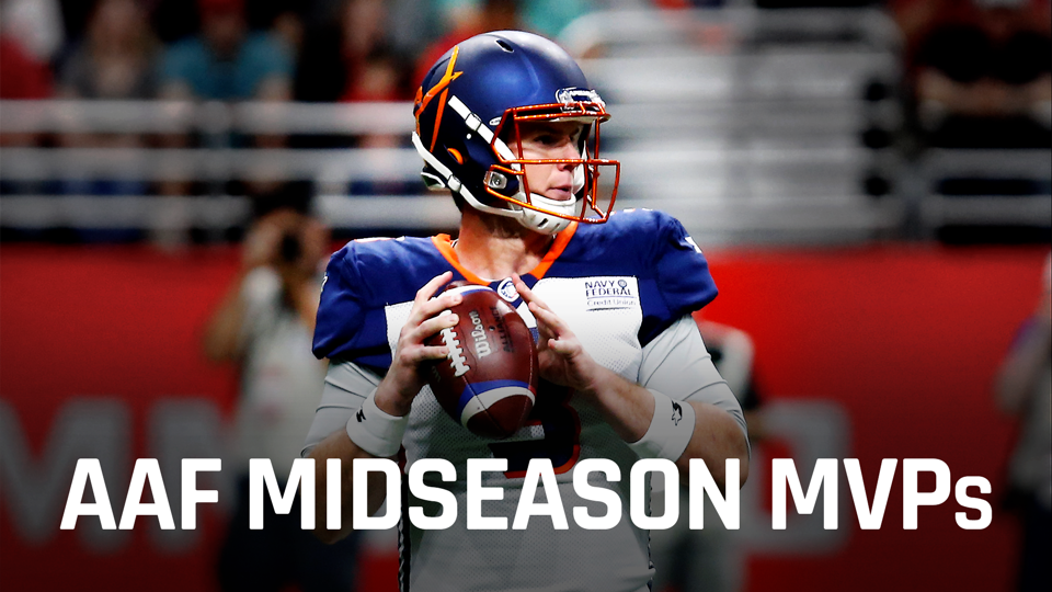 AAF midseason awards: Picking the offensive, defensive and special teams MVPs so far