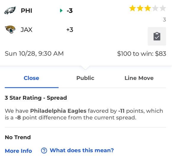 Week 8 NFL odds, betting trends   Big Sports News