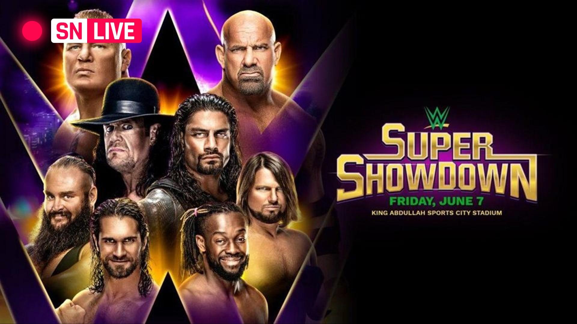 WWE Super ShowDown 2019 results, live updates, matches, predictions