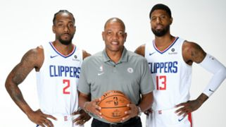 Kawhi Leonard Doc Rivers Paul George  LA Clippers