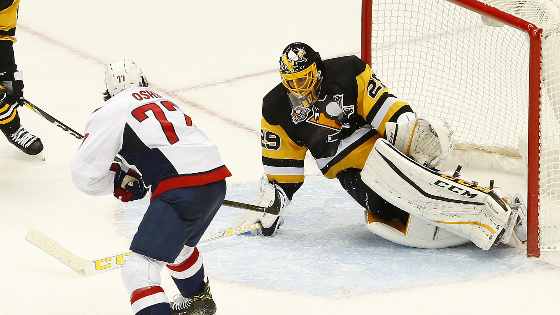 info for 61d92 e02cf Marc-Andre Fleury swallows hard and starts over, the right ...