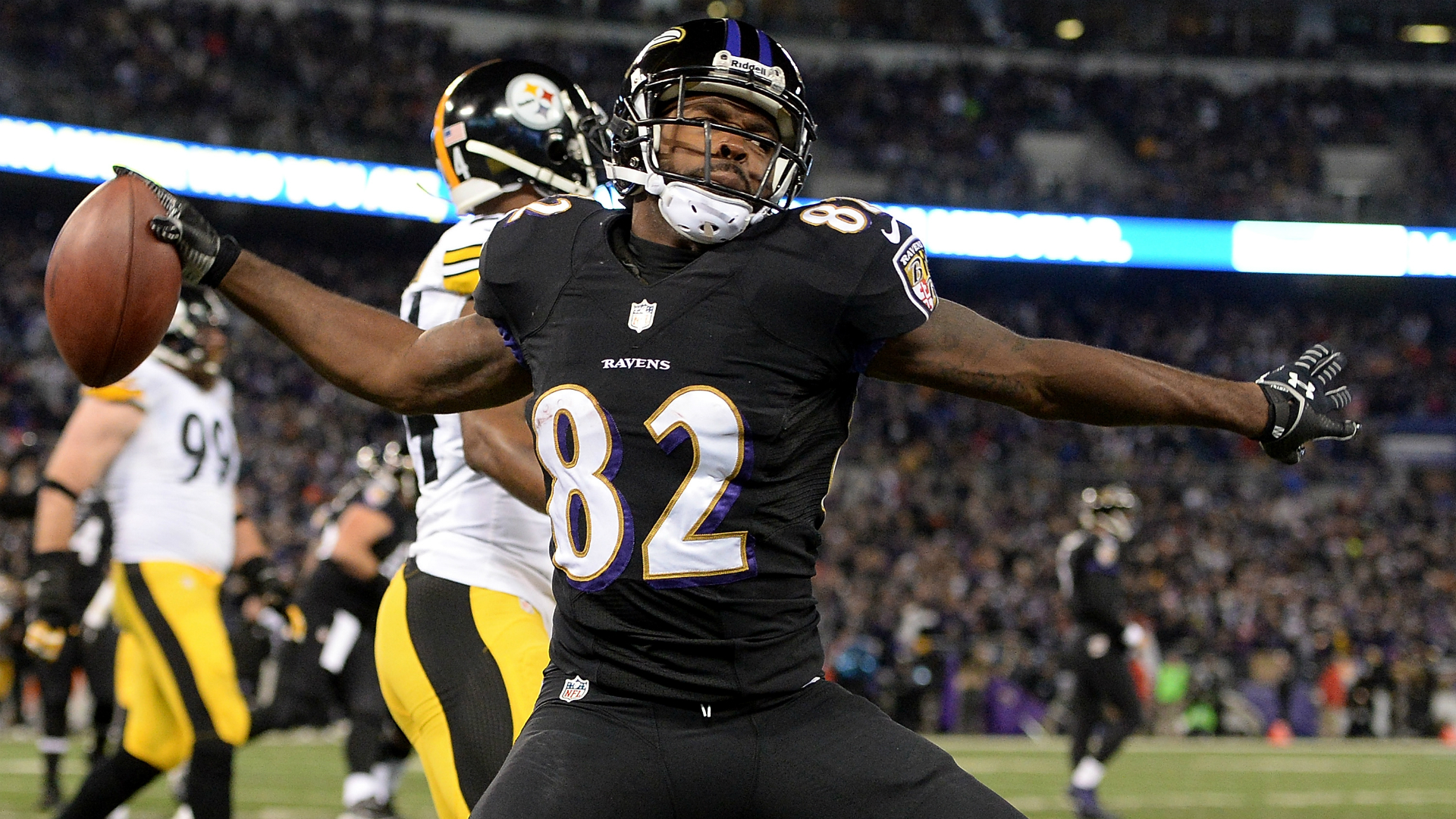 Torrey Smith announces NFL retirement, will return to Baltimore to continue community work