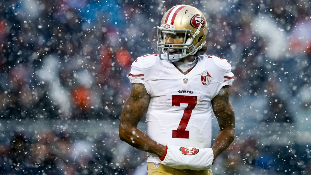 a0160b70 Colin Kaepernick timeline: Looking back at year of national anthem  controversy | Sporting News