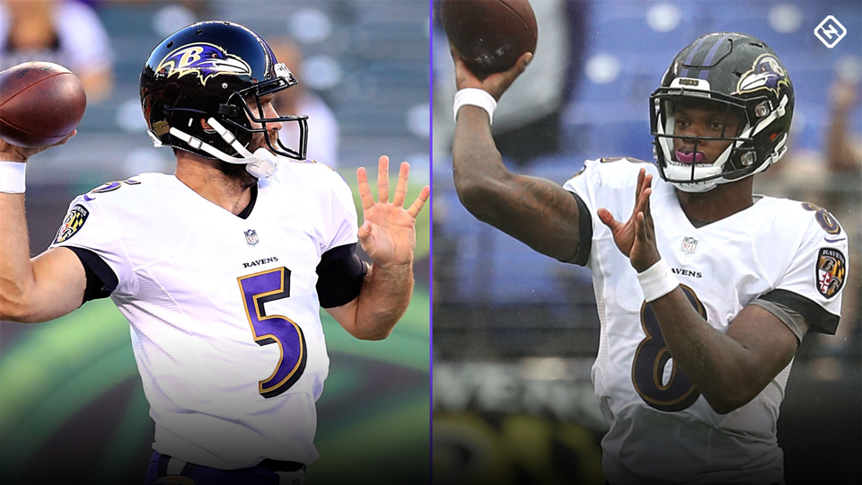 No, Ravens shouldn't play Lamar Jackson over Joe Flacco — for now, anyway