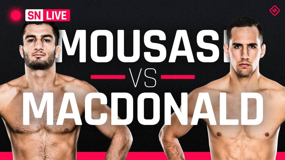 Bellator 206 Mousasi vs. MacDonald: Results, live updates and round-by-round scoring