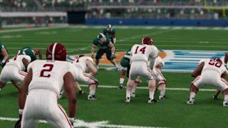 NCAA Football 14 Cotton Bowl Alabama Michigan State