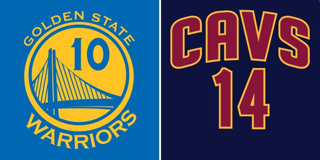 Know your NBA Finals visuals — Warriors vs. Cavaliers ...