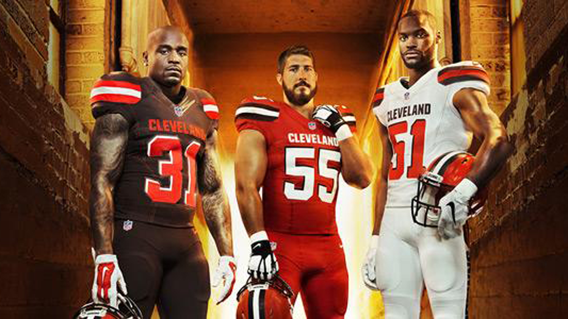 more photos c2366 206fe Cleveland Browns unveil new jerseys for 2015 | Sporting News