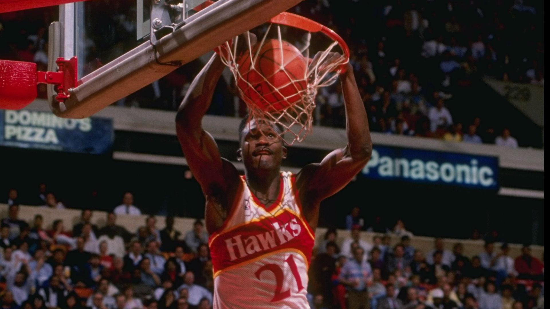 brand new 8828b 903d0 Dominique Wilkins still thinks he beat Michael Jordan in 1988 Slam Dunk  Contest   Sporting News