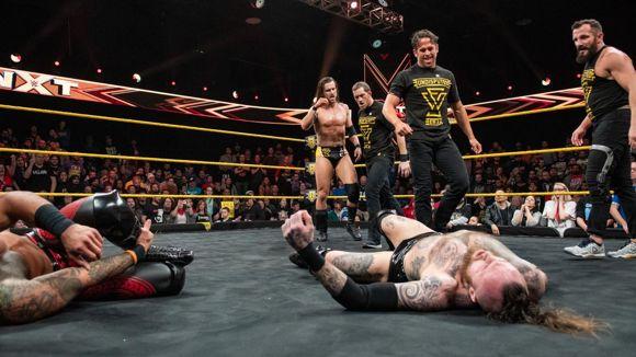 WWE, NXT, #492, アンディスピューテッド・エラがリコシェ、ブラックをKO