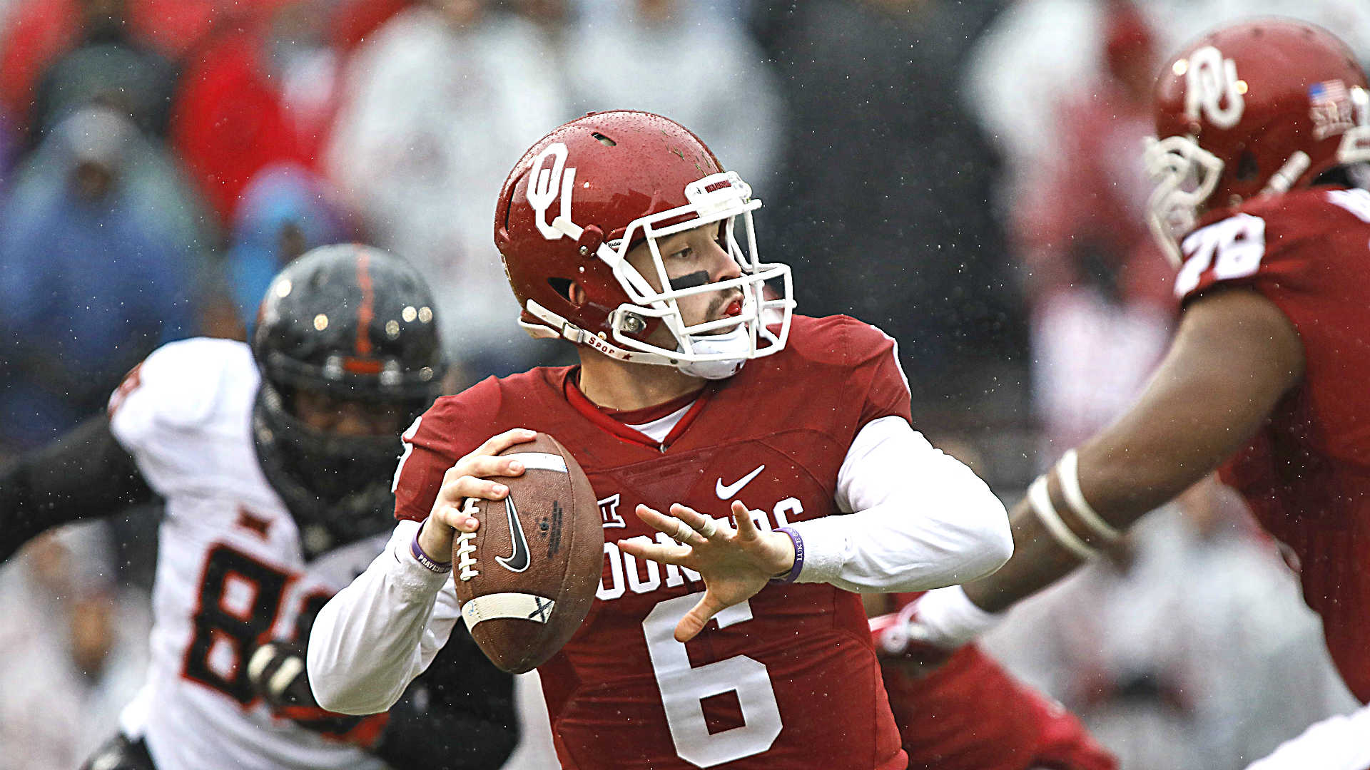Bedlam: Oklahoma's Baker Mayfield has chance to be best Sooners QB of all time