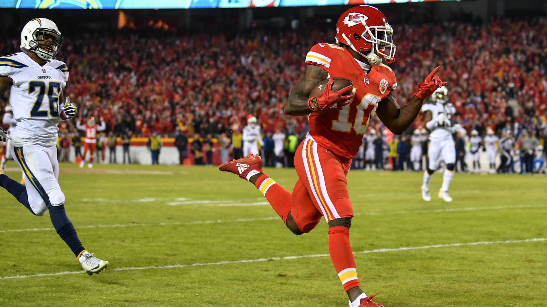 Chargers vs. Chiefs: Score, results, highlights from Saturday night game in Kansas City
