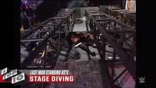 WWE ラストマン・スタンディング KO トップ10
