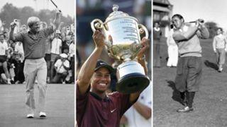 PGA Championship multiple winners