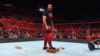 WWE ロウ #1307 インターコンチネンタル ロリンズ アライアス