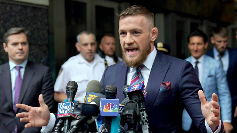 The UFC absolutely cannot afford to reward Conor McGregor for bad behavior