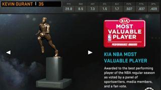 NBA 2K16 Kevin Durant MVP