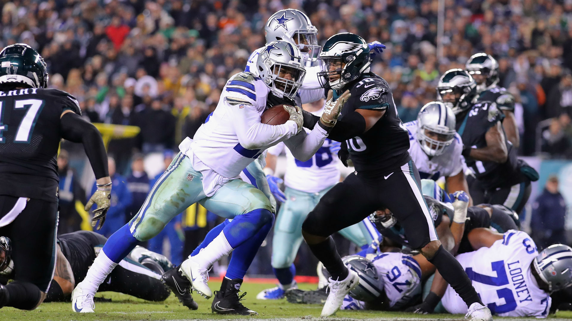 7d8d5383e Cowboys vs. Eagles: Score, live updates, highlights | Sporting News