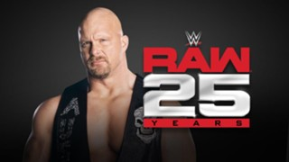 """Stone Cold"" Steve Austin returns for Raw 25th anniversary"