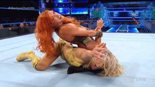 WWE スマックダウン #981 ベッキー・リンチ シャーロット・フレアー マネー・イン・ザ・バンク