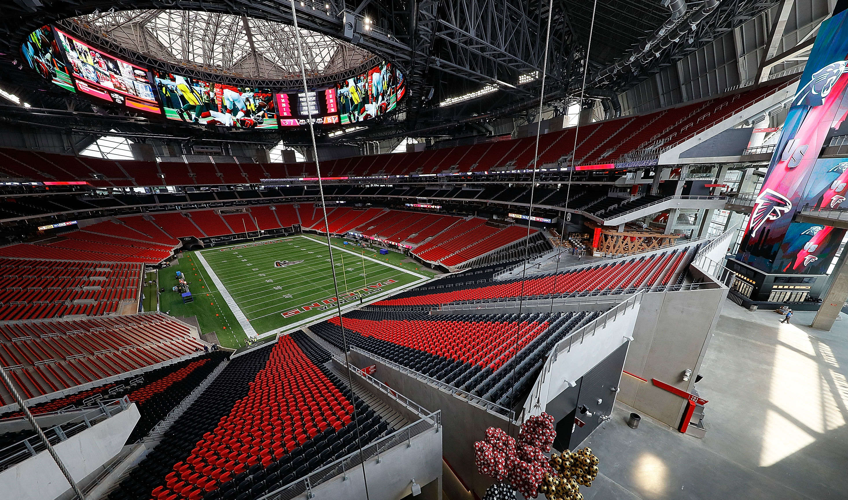 When is super bowl 2019 date location odds for super for Mercedes benz stadium calendar