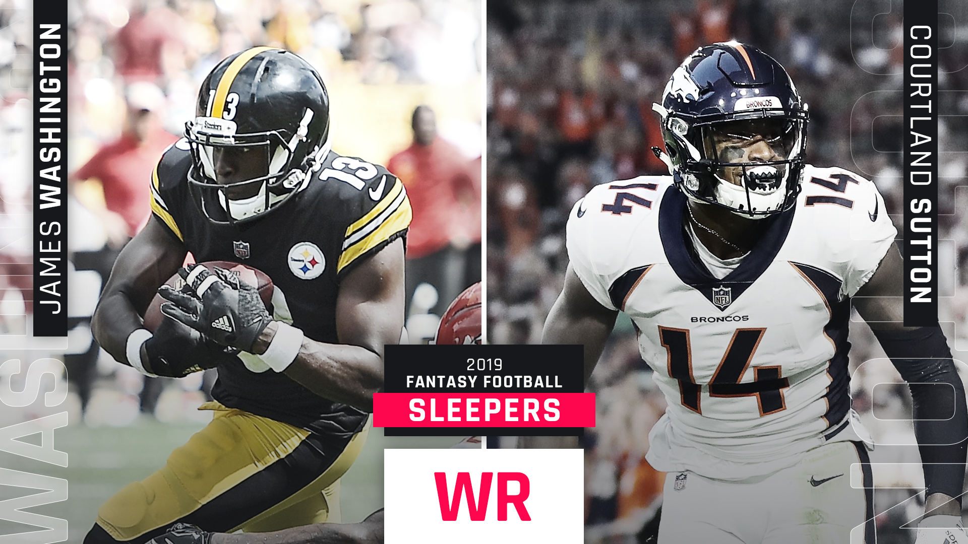 2019 Fantasy WR Sleepers: Top wide receiver breakouts for standard, PPR leagues