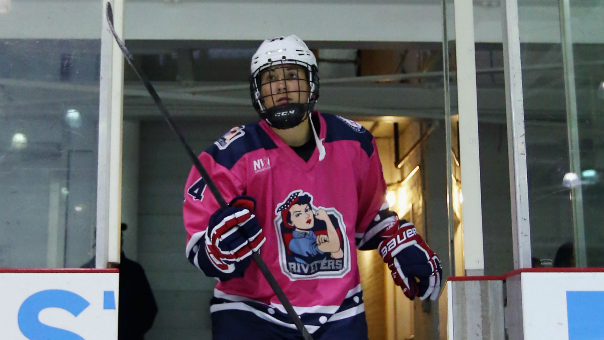Inside the NWHL: Madison Packer and the masked physical toll of women's hockey