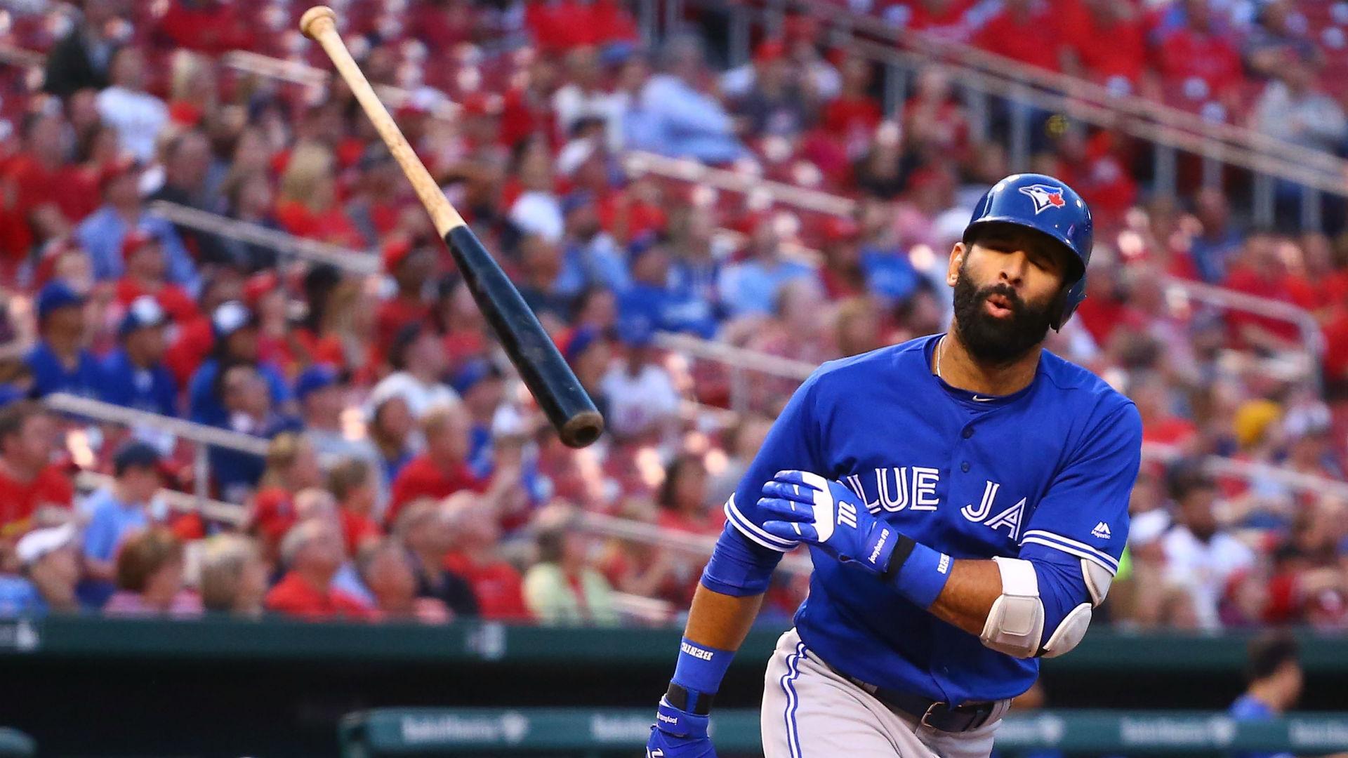 39deb5f67 Jose Bautista's bat flip is the dumbest thing in baseball this week |  Sporting News