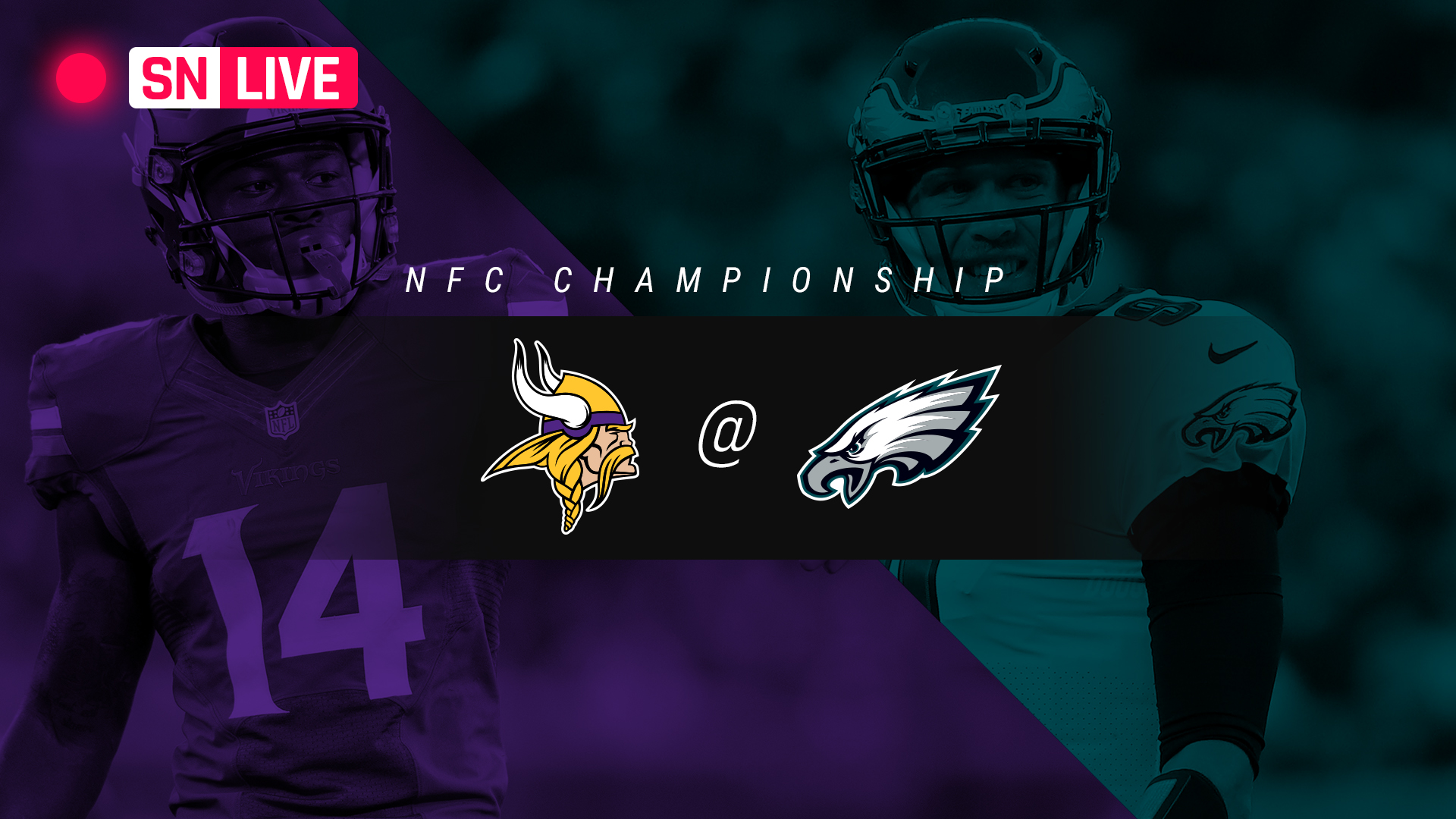 vikings vs eagles