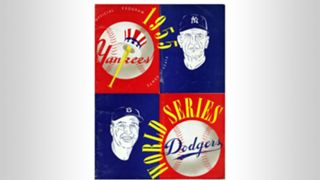 1955 World Series program