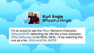 WWE ロウ ロンダ・ラウジー 初挑戦