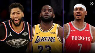 Anthony Davis-LeBron James-Carmelo Anthony-071019-GETTY-FTR