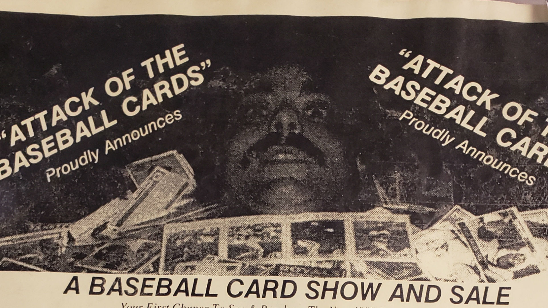 Attack Of The Baseball Cards A Small New Jersey Card Shop