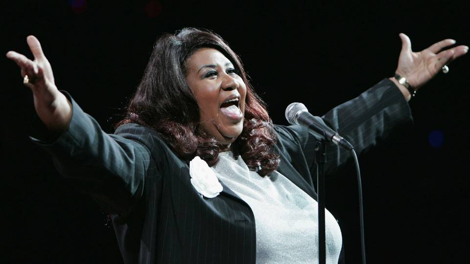 Remembering Aretha Franklin's 2004 NBA Finals national anthem performance