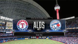 MLB 15: The Show ALDS Rangers vs Blue Jays