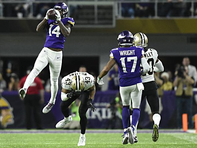 Stefon Diggs' biggest play ever keeps Vikings on path toward Super Bowl