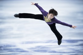 Kazuki Tomono at NHK Trophy SP