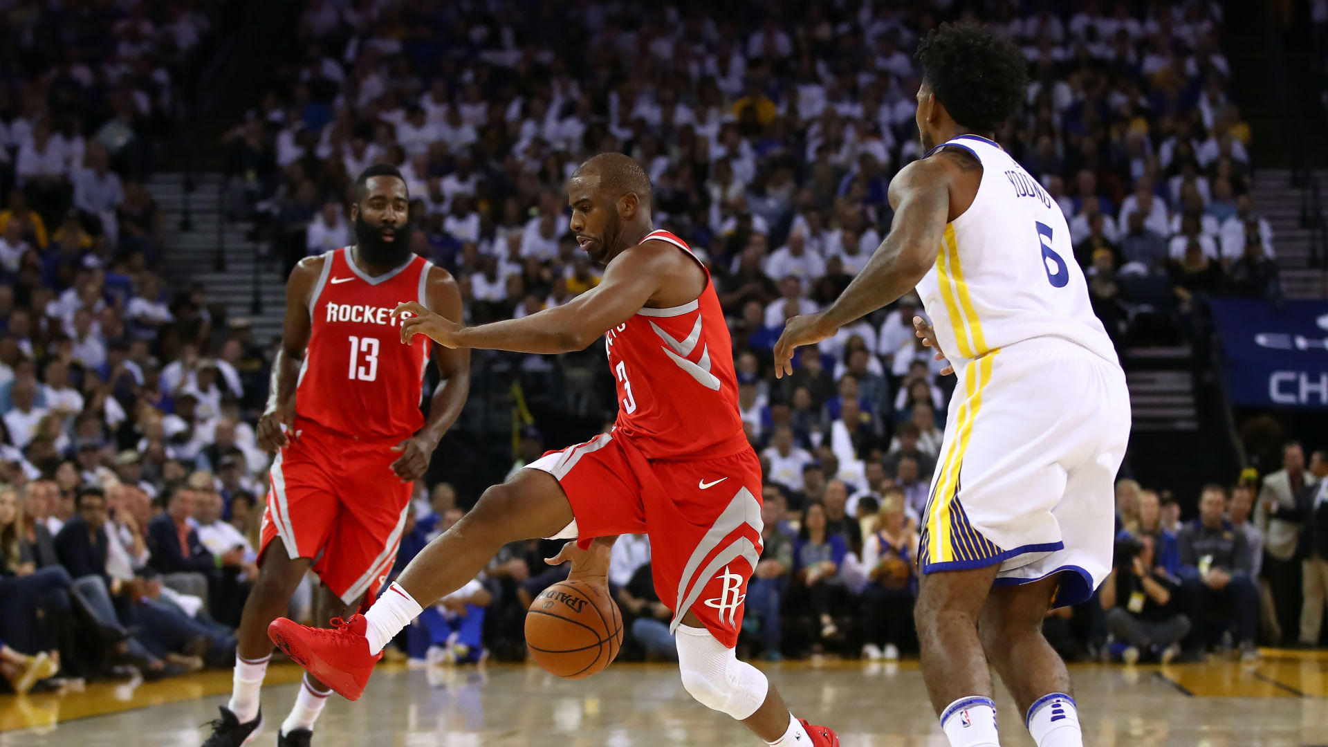 Chris Paul's brother almost ejected from Rockets-Jazz game by mistake
