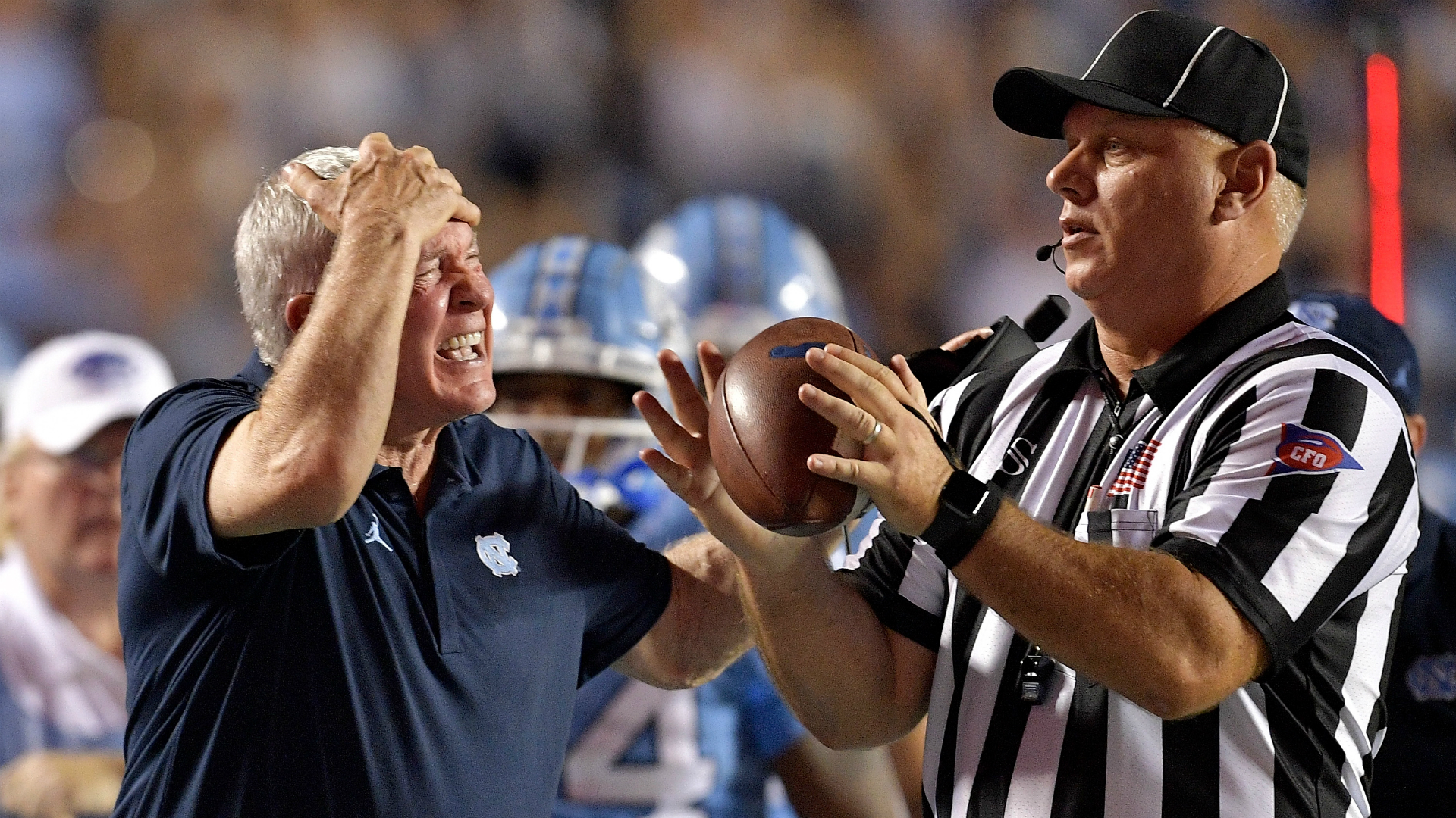 Referees ended Wake Forest vs. UNC game early, ACC says