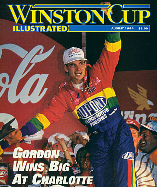 Winston Cup Illustrated May 1995 Featuring Ricky Rudd Sports Mem, Cards & Fan Shop