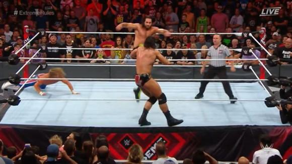 WWE PPV エクストリーム・ルールズ IC王座戦