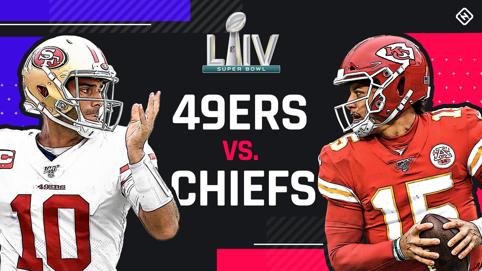 Cuotas del Super Bowl 2020, línea: selecciones de 49ers vs. Chiefs, predicciones de expertos de SN 2
