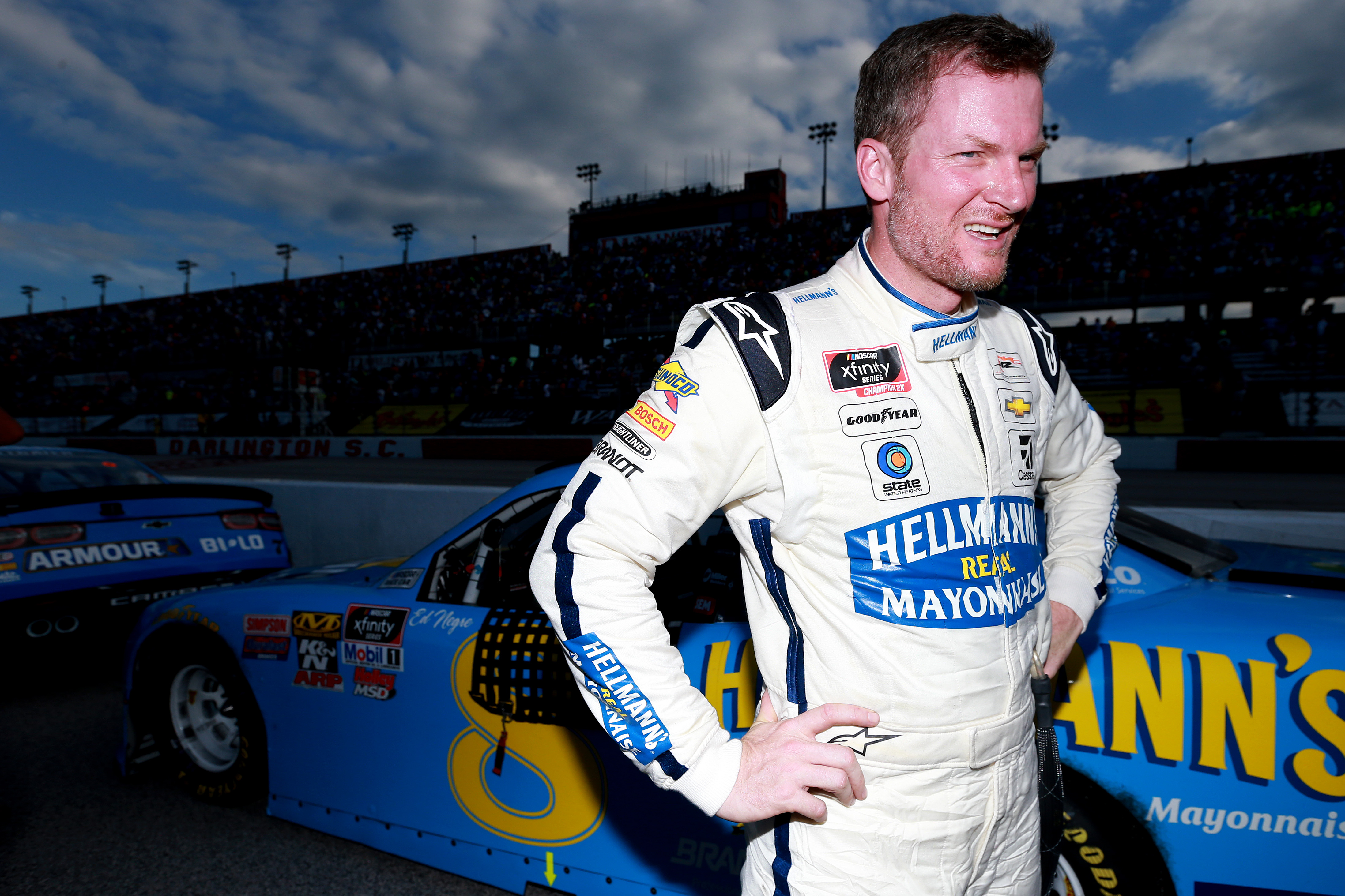 Dale Earnhardt Jr. trying to